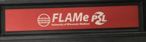 Awesome new nameplate on the FLAMe lid!